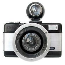 Lomography Fisheye 2 Black and Silver 35mm Camera With Flash