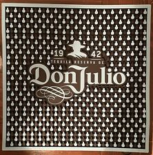 """NEW Authentic Don Julio Tequila Bar Spill Mat 16.5""""x16.5"""""""