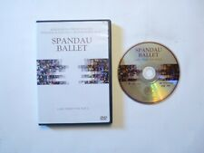 SPANDAU BALLET LIVE FROM THE N.E.C. DVD 5.1 STEREO SURROUND