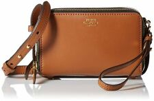 VINCE CAMUTO BRENA  Mocha/Bisque ALL IN ( 1 ) Leather Cross-Body Bag NWT $138.00