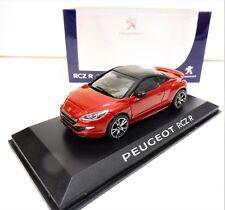 Peugeot RCZ R Année 2014 Rouge avec Noir Mat toit 1 43 NOREV