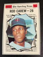 1970 Rod Carew All Star # 453 Minnesota Twins Topps Baseball Card
