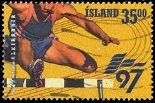 "ICELAND 842 - European Games ""Hurdles"" (pa66505)"