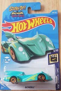 Hot Wheels Scooby Doo & Batmobile 128/250 2020 3/10 HW Screen Time Long Card