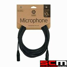 DADDARIO PLANET WAVES CLASSIC MICROPHONE CABLE 10 PW-CMIC 10ft XLR LEAD