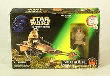 Star Wars POTF2  Speeder Bike With Luke Skywalker MIB