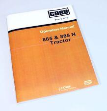 Heavy equipment manuals books ebay case david brown 885 n 885n tractor operators owners manual fandeluxe Gallery