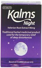 Kalms Night Herbal 50 New Stock Sleeping tablets