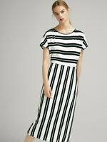 [ MASSIMO DUTTI ] Womens Striped Dress | Size S or AU 10 or US 6