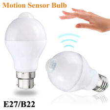 E27/B22 5W/7W/12W Auto PIR Motion Sensor Detection LED Light Lamp Globe Bulb