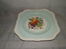 """Vintage, Johnson Bros, England, Fruit Decorated,7 3/4"""", Luncheon Plate"""