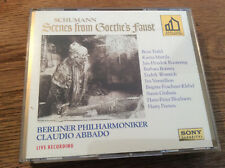 Schumann - Scenes from Goethe's Faust  [2 CD BOX / GOLD CDs]  SONY ABBADO
