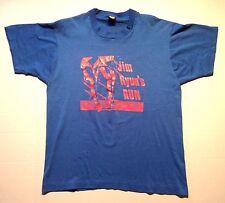 Vintage Jim Ryun's Run marathon t-shirt Bismarck North Dakota YMCA athletics