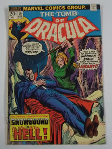 The Tomb of Dracula #19 (1st Print) 7.0 FN/VF Marvel Comics