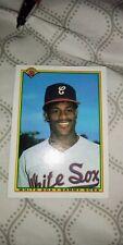 New listing 1990 Bowman Sammy Sosa Chicago White Sox #312 Baseball Card