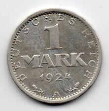 Germany - Duitsland - 1 Mark 1924 A