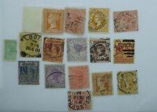stamps australia  VICTORIA  1 Shilling 16 stamps
