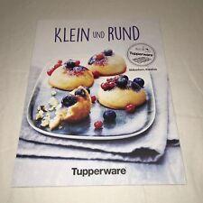 """Tupperware - Kochbuch  """"Klein und Rund """" E96"""