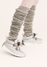 Sorel Out'N About Puffy Lace Boot in Pure Silver size 8.5 $140
