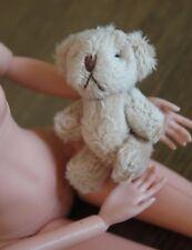 *001* Barbie Doll Size, Teddy Bear for Doll House, Decoration Miniature