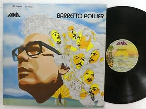 RAY BARRETTO Power LP Fania Venezuela MINT- reissue Latin Funk Salsa  a72