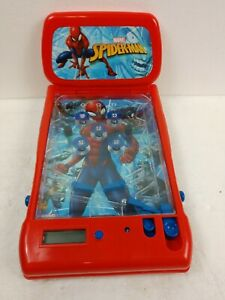 SPIDERMAN TOY PIN BALL GAME