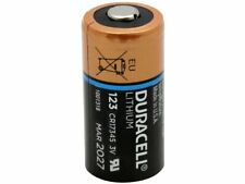 2PC DURACELL Ultra CR123A Lithium DL123A CR17345 3V Lithium Battery, Made in USA