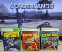 Borderlands 1, Pre-Sequel, Add-On Pack Xbox 360 Tested SAME DAY SHIPPING