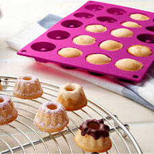 Mini Fancy Bundt Savarin Cake Pan Silicone Mold Baking Mould