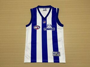 Russel Athletic North Melbourne Kangaroos Guernsey ~ M ~ AFL Team Player Issue