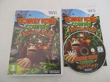 DONKEY KONG COUNTRY RETURNS - NINTENDO WII - JEU WII PAL FR COMPLET