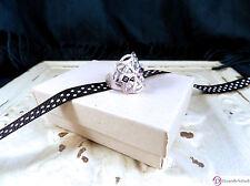 SARA BLAINE Nadia Sterling Silver & Amethyst Ring ~ Size 9