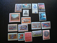 ITALIE - timbre yt n° 1014 a 1020 1022 a 1030 1033 n** (A4) stamp italy