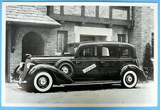 "12 By 18"" Black & White Picture 1936 Lincoln Willoughby Limosine"