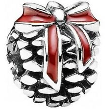 New Genuine PANDORA 1/2 PRICE SALE Pine Cone Christmas Charm 791237EN39
