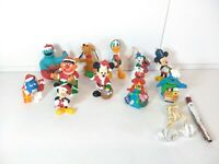 LOT OF (13) VINTAGE SESAME STREET/ MICKY MOUSE & OTHER CHRISTMAS ORNAMENTS