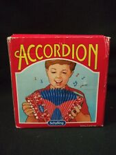 Vintage Schylling Mini Vintage Accordian Accordion Works And Sounds Great