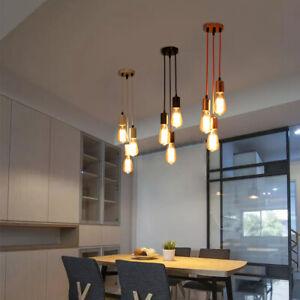 3-ways Chandelier Pendant Light Ceiling Fixture fit E27 Edison Lamp Industrial