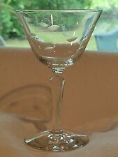 Set 6 Vintage Cut Crystal Champage Glasses