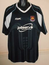West Ham United Away Rebook Shirt 2006-2007  2xl men's #1082