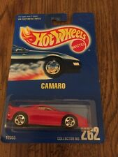 Hot Wheels  CAMARO   # 262   Red    from 1991  MOC