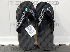 Gravis Soundcheck Sandals Men's 8 Black Flip Flops Beach Pool Slippers NICE BRO!