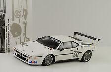 1979 BMW M1 Procar ITALIA Ganador Zolder De Angelis #60 1:18 Minichamps