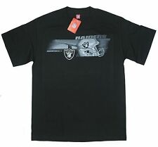 Raiders Medium T-Shirt Oakland NFL Football American Black Helmet Bridge