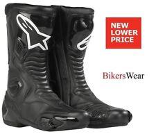 Alpinestars SMX 5 Black Motorcycle Racing & S-MX 5 Sport Boots -SMX 5 Size 44,41