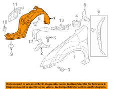 Lincoln FORD OEM 07-09 MKZ-Front Fender Liner Splash Shield Left 6H6Z16103B