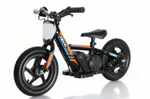 Orange Revvi 30.5cm Électrique Enfants Vélo Moto 24v Batterie Puissance