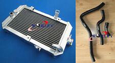 For ATV aluminum radiator Yamaha 660R/Raptor 660 YFM660R 2001-2005 HOSE BLACK