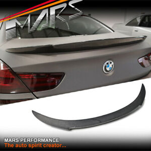 Vorsteiner Style Carbon Trunk Lip Spoiler for BMW 6-Series F06 Gran Coupe & M6