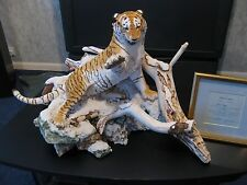 More details for  limited edition siberian tiger by sherratt and simpson  #77 of 100  (505)